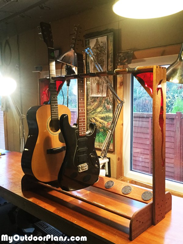 How-to-build-a-multi-guitar-stand