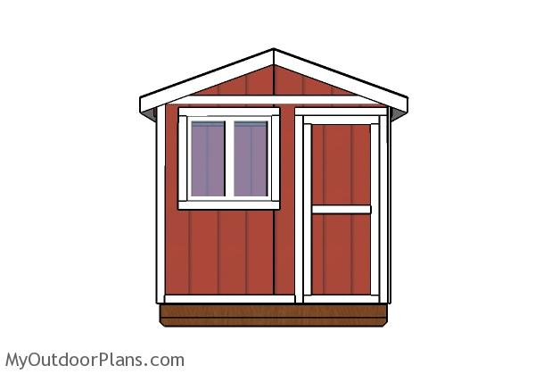 6x8 Ice Fishing Shack Door Plans