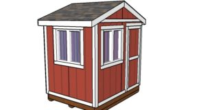 6×8 Ice Fishing House Plans