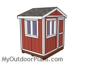 Ice fishing shack Plans
