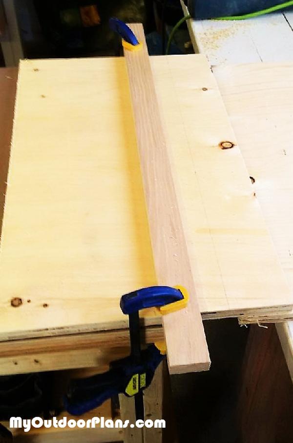 Jig-saw-cut