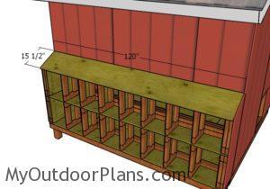 Nest box roof
