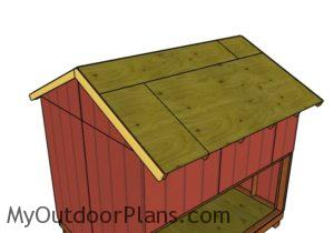 Side overhnag rafters