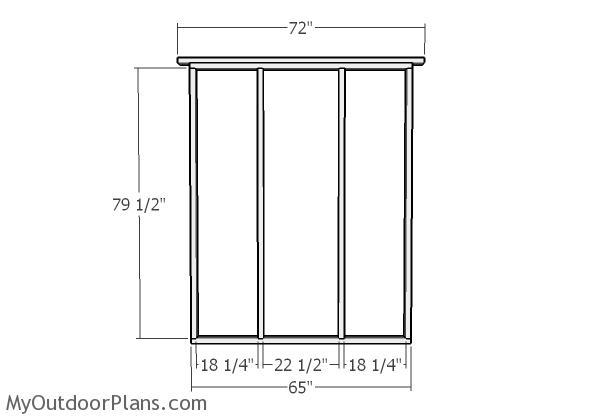 Side wall - Frame