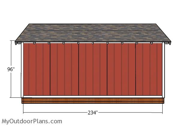 Side wall - Trims