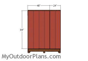 Side wall - siding