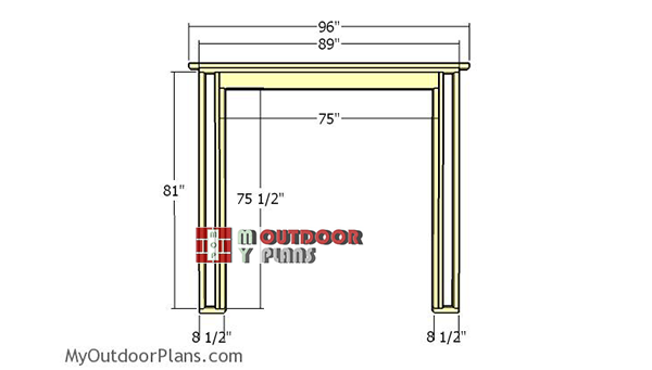 Side-wall-with-double-doors-frame