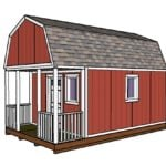 12×20 Small Cabin Plans – DIY Hunting Shack