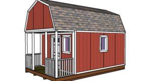 12×20 Small Cabin Plans – DIY Hunting Shack