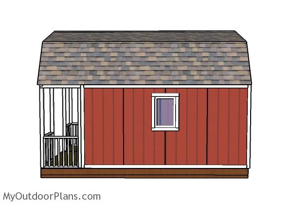 12x20 small cabin plans diy hunting shack for Hunting shack floor plans