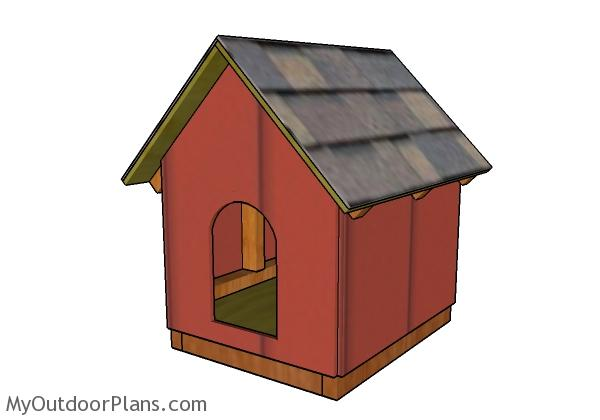 Dog house plans for small dogs myoutdoorplans free - Small dog house blueprints ...