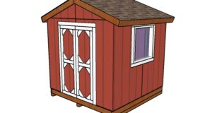 8×8 Small Garden Shed Plans