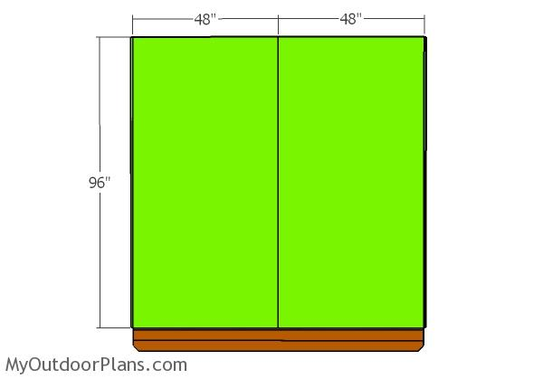 Tall side wall sheets