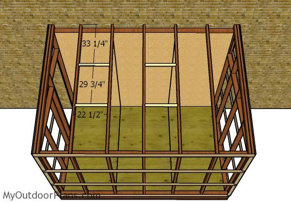 Vent roof frame