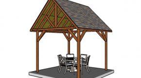 10×10 Pavilion Plans