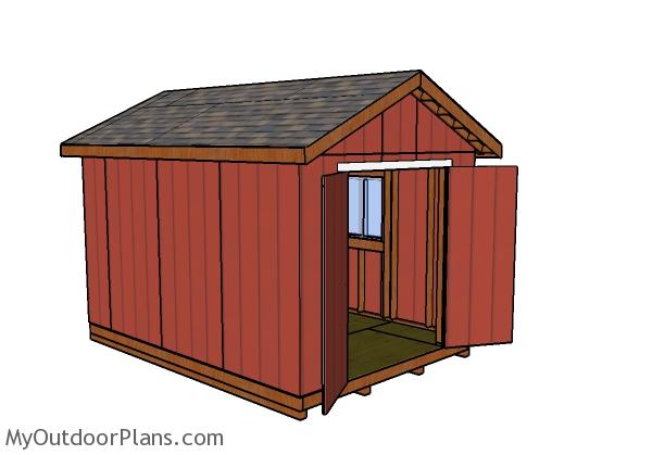 10x14 Shed Plans Free