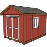 10×14 Shed Plans