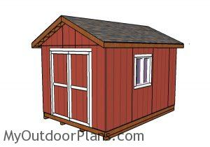 10x14 Shed Plans MOP