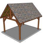 12×16 Pavilion Plans