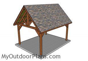 12x16 Pavilion Plans
