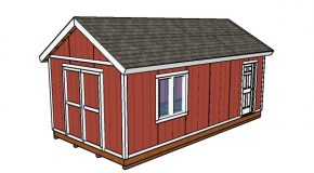 12×24 Shed Plans