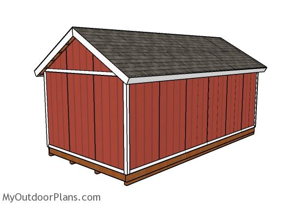 12x24 Shed Doors Plans Myoutdoorplans Free Woodworking