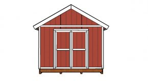 12×24 Shed Doors Plans