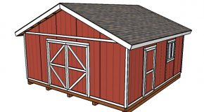 20×20 Shed Plans