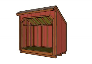 4x8 Wood Shed Plans