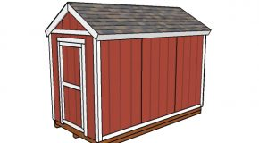 6×12 Shed Plans