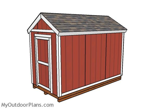 6x12 Shed Plans