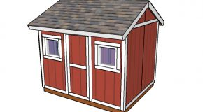 8×10 Shed Plans