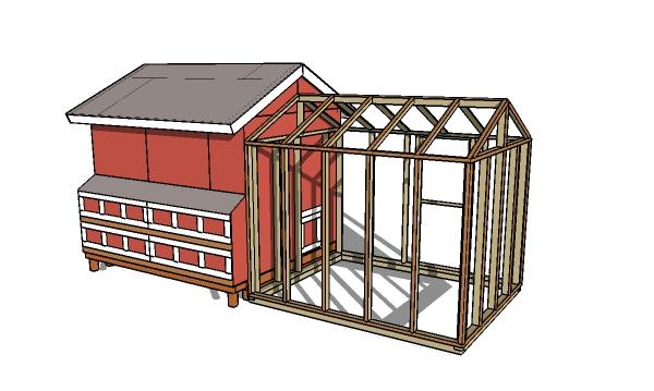 8x10 chicken coop