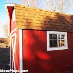 DIY 8×12 Barn Shed