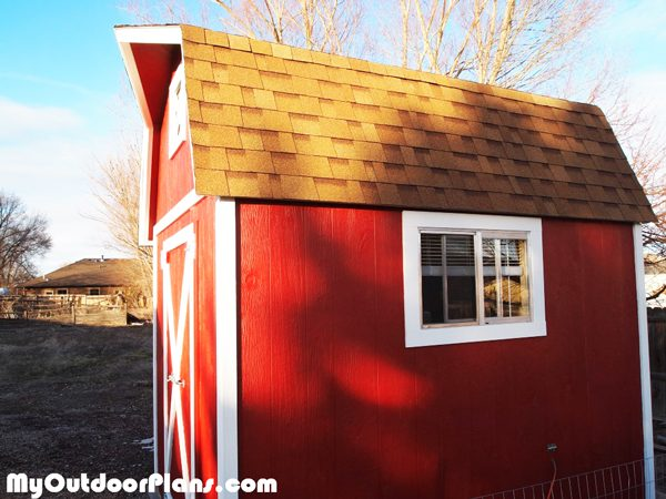 Diy 8x12 Barn Shed Myoutdoorplans Free Woodworking