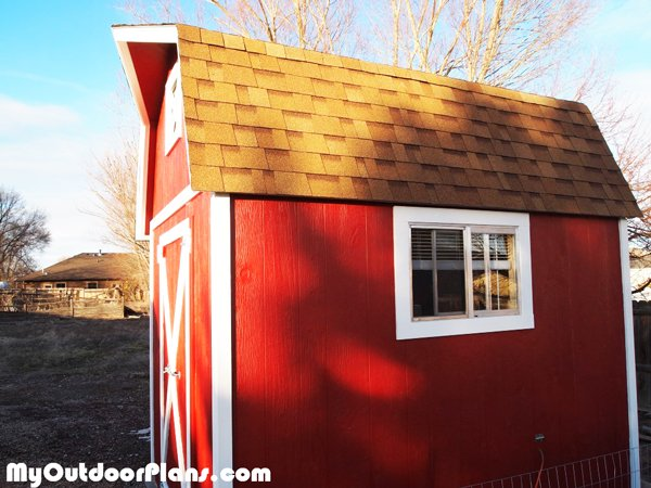 DIY 8x12 Barn Shed