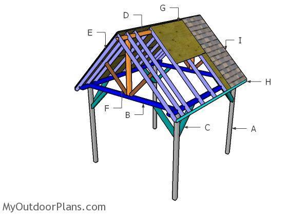 Do It Yourself Home Design: 10x10 Pavilion Roof Plans