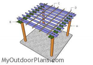 Building a 10x10 pergola