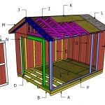 10×14 Gable Shed Roof Plans