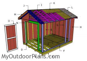 Building a 10x14 shed