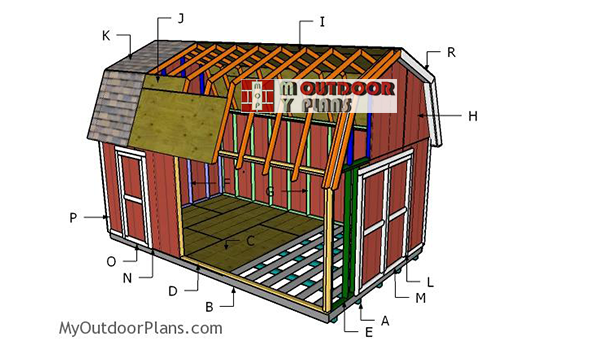 Building-a-12x20-barn-shed