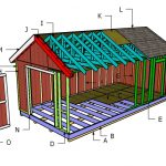 12×24 Gable Roof Plans