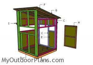 Building a 5x5 shooting house