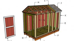 6×12 Shed Roof Plans
