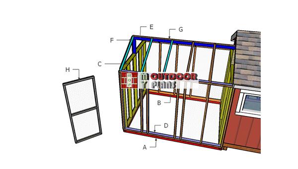 Building-a-8x10-chicken-run