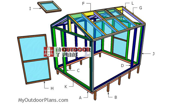 Building-a-8x10-greenhouse