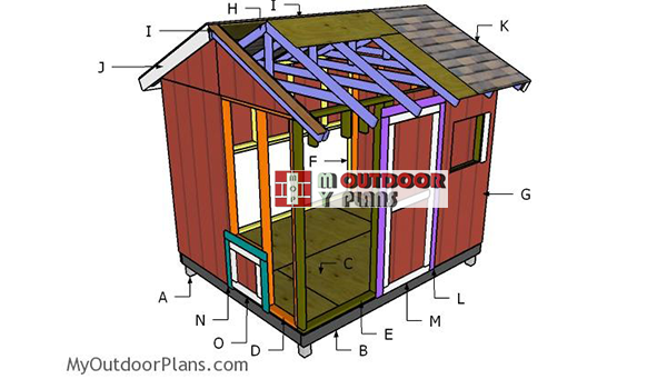 Building-a-large-chicken-coop-8x10