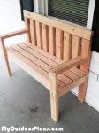 DIY Simple Garden Bench