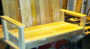 DIY Glider Bench
