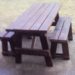 DIY 5′ Picnic Table